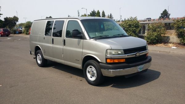 2004 Chevrolet Express Just Discounted For Sale In Portland Or