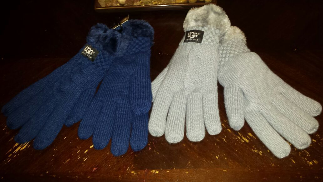 Ugg and North Face Gloves