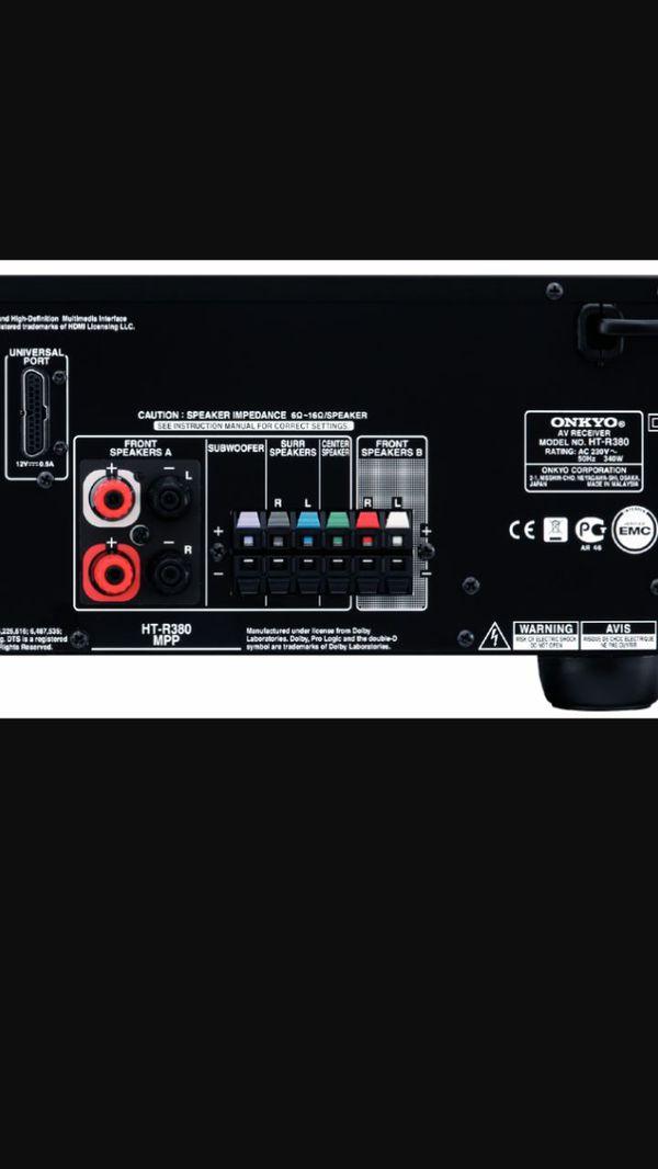Onkyo HTR-380 Receiver - w/HDMI & Remote for Sale in Phoenix, AZ - OfferUp