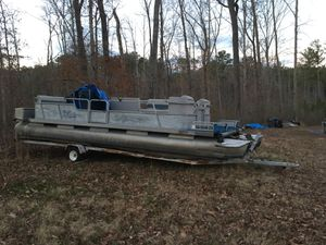 New And Used Pontoon Boat For Sale In Mcdonough Ga Offerup
