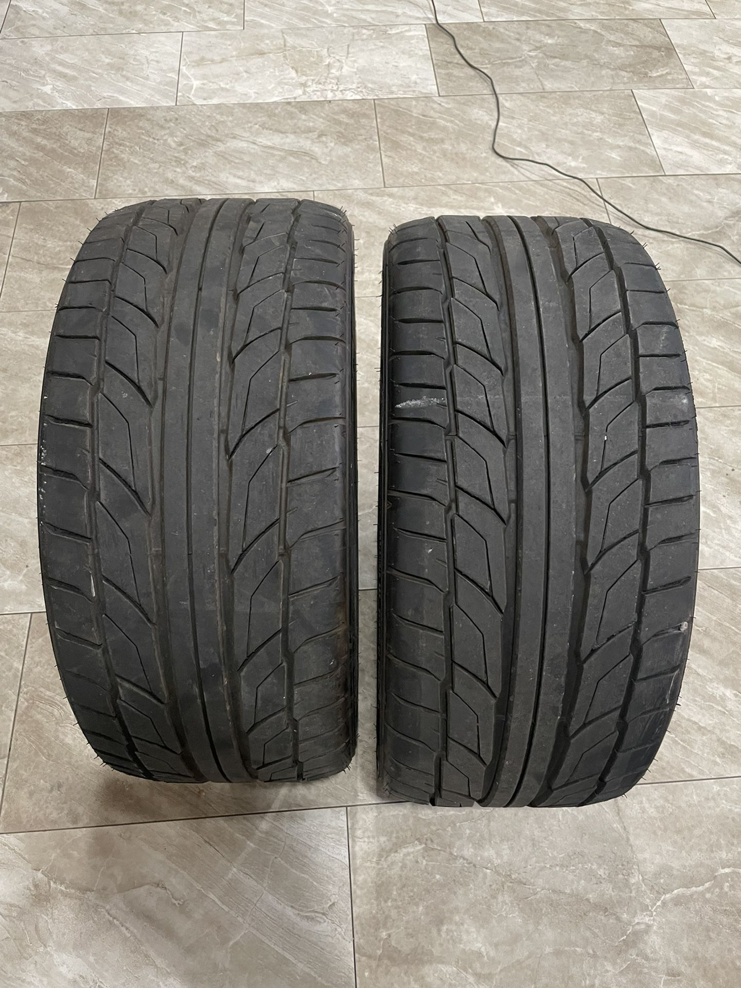 "Only 2 Wheels Size 18"" 255/35zR18 94 W - Nitto"