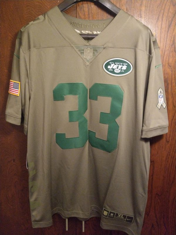 sports shoes 1889a 1ddae SZ XL Nike NFL York Jets Salute to Service Stitched Jersey Jamal Adams #33  NWT for Sale in Inglewood, CA - OfferUp