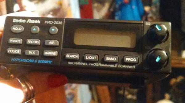 Police Scanner pro-2038 for Sale in Castle Rock, WA - OfferUp