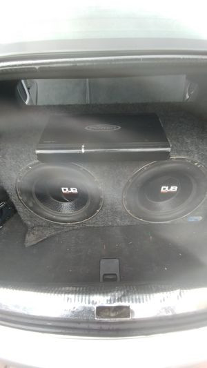 "2 12"" subs and amp for Sale in Seattle, WA"