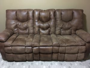 Dual reclining couch for Sale in Fairfax, VA
