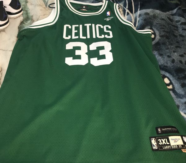 sports shoes 1c255 aeff7 BOSTON CELTICS JERSEY 3X AND VINTAGE JACKET SIZE LARGE for Sale in San  Jose, CA - OfferUp