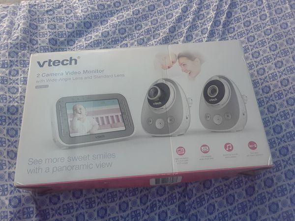 vtech 2 camera video monitor
