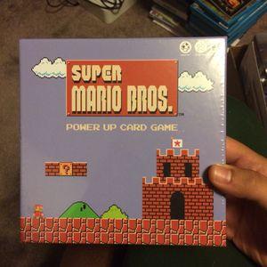 super mario bros power up card game