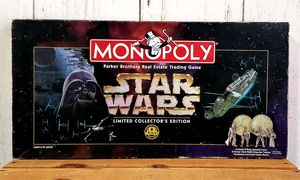 Photo Monopoly STAR WARS Limited Collectors Edition 20th Anniversary 1996 GREAT shape