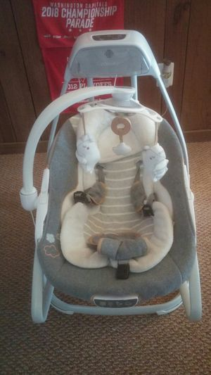Ingenuity Baby Swing and Rocker with MP3 for Sale in Germantown, MD