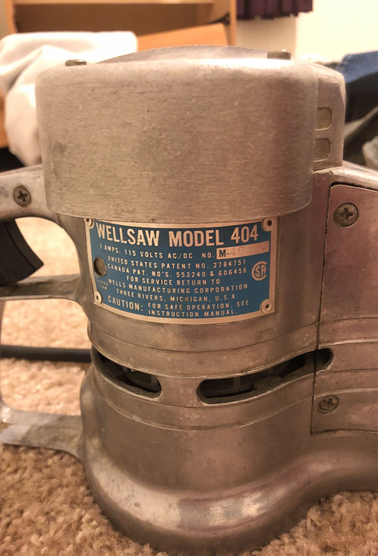 Wellsaw model 404