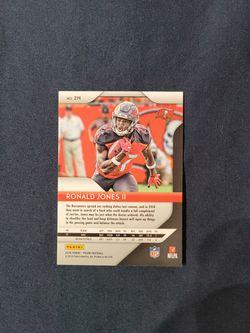 Ronald Jones Rookie Card Thumbnail
