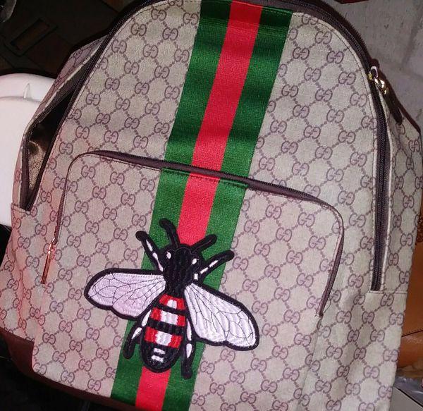 d25ec0f6b4f9 Gucci Animalier Web Backpack Monogram GG Supreme Stitched for Sale ...