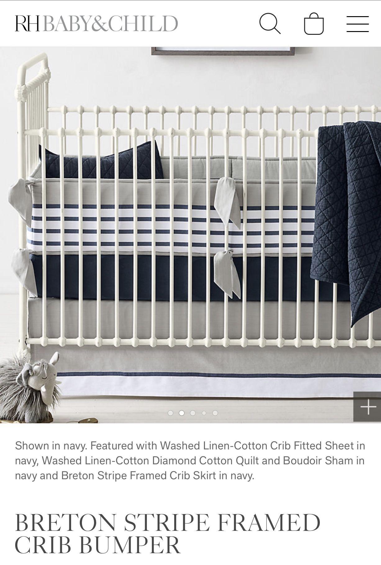 RH Baby Crib Bumper