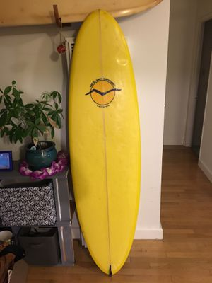 6' single fin egg surfboard Midget smith for Sale in Los Angeles, CA