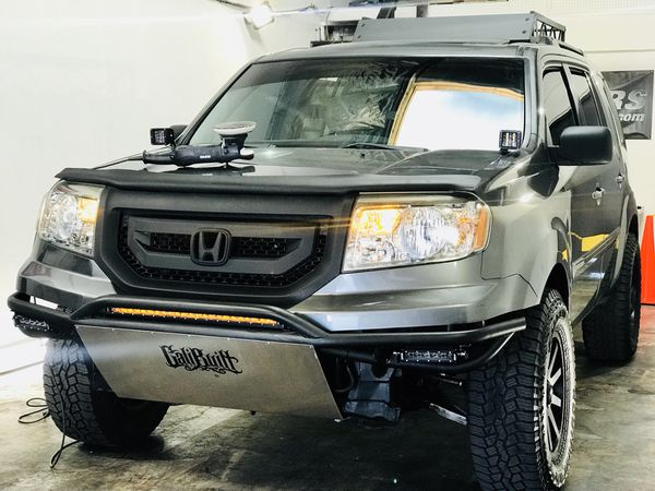 Lifted 2011 Honda Pilot Off Road 3rd Row Seats Toyota Jeep 4runner