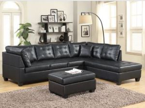 Groovy New And Used Black Sectional For Sale In Monroe Mi Offerup Creativecarmelina Interior Chair Design Creativecarmelinacom