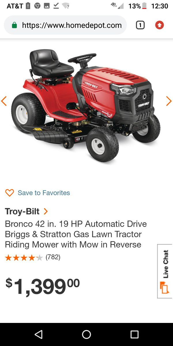 9b12fb88 New and Used Riding lawn mower for Sale in Redmond, WA - OfferUp