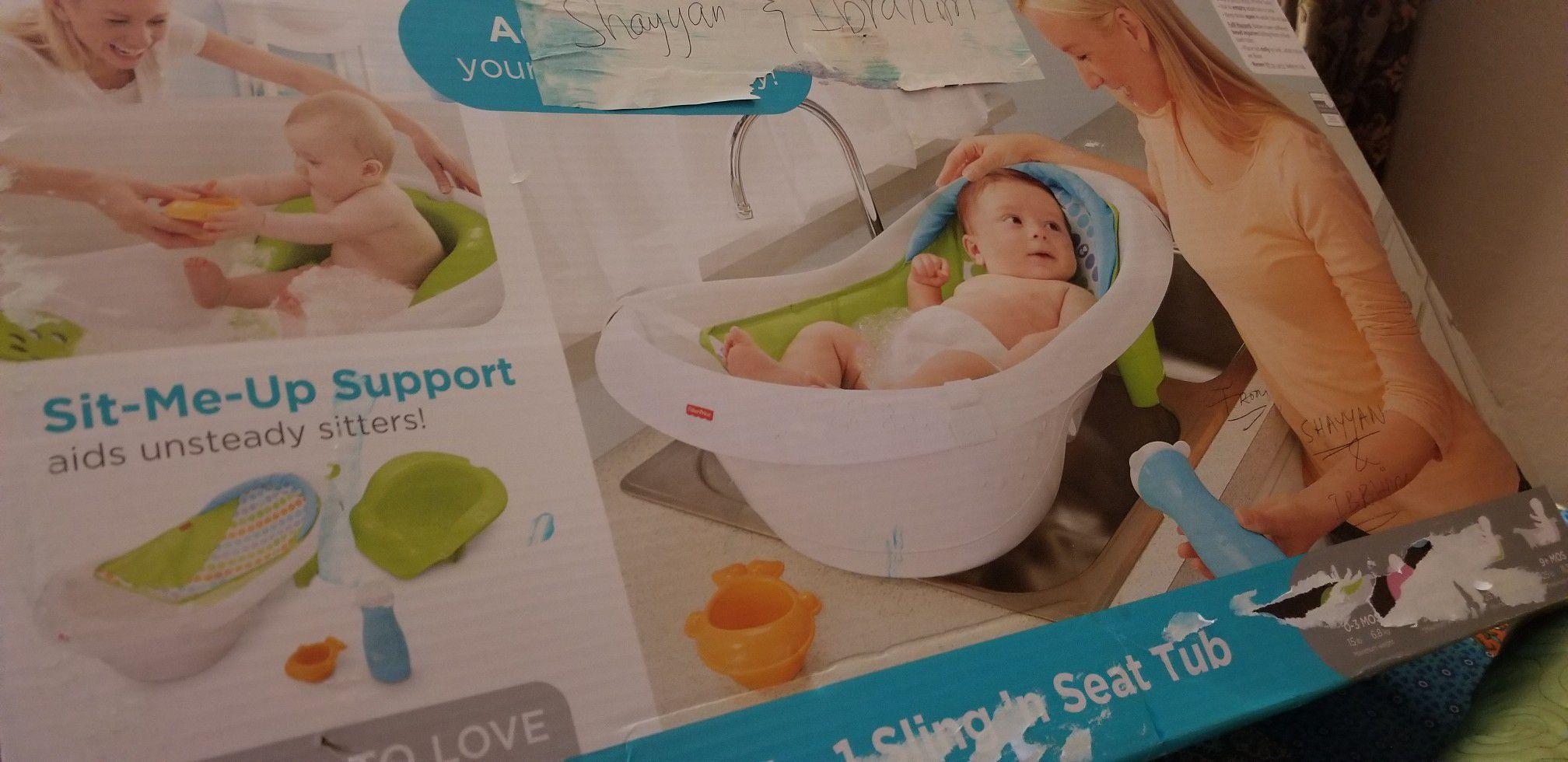 Fisher price bath tub