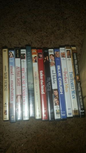 Classic great DVDS. Adult owned. EXCELLENT CLEAN CONDITION for Sale in Knightdale, NC