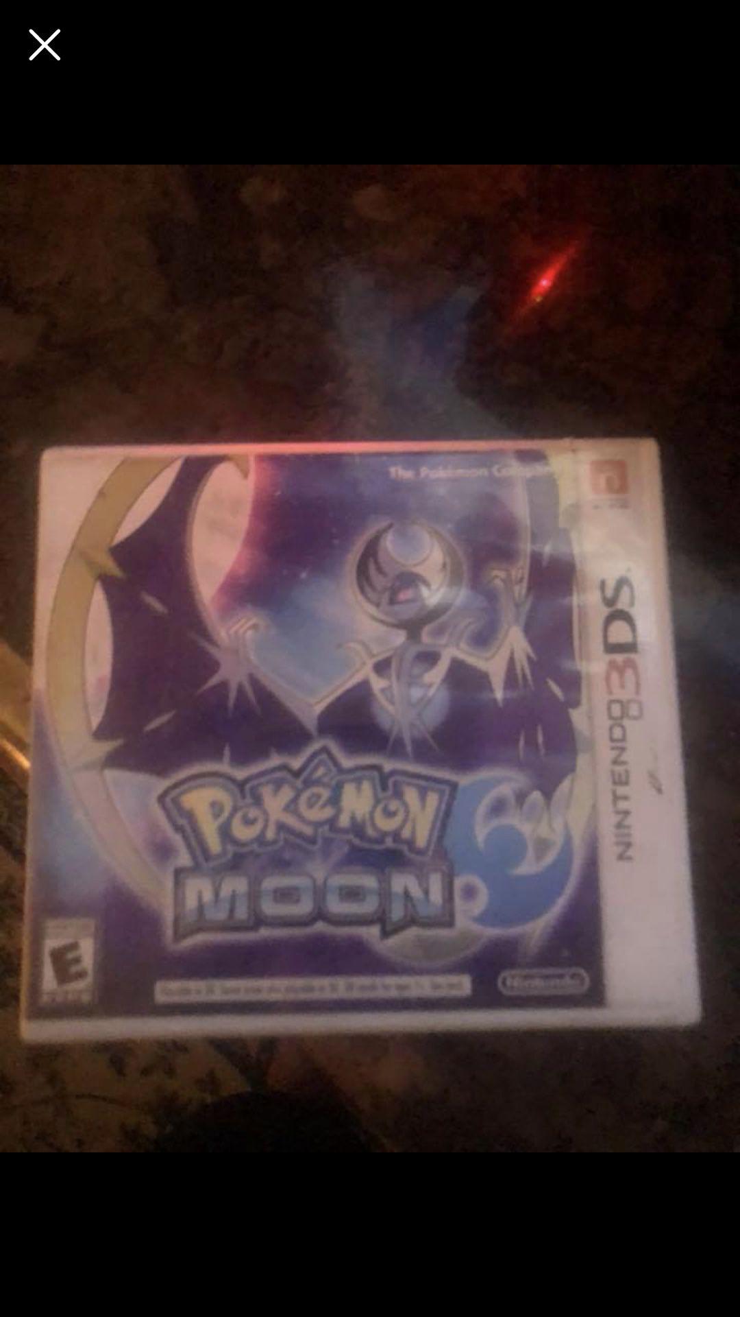 Pokémon moon 3 ds