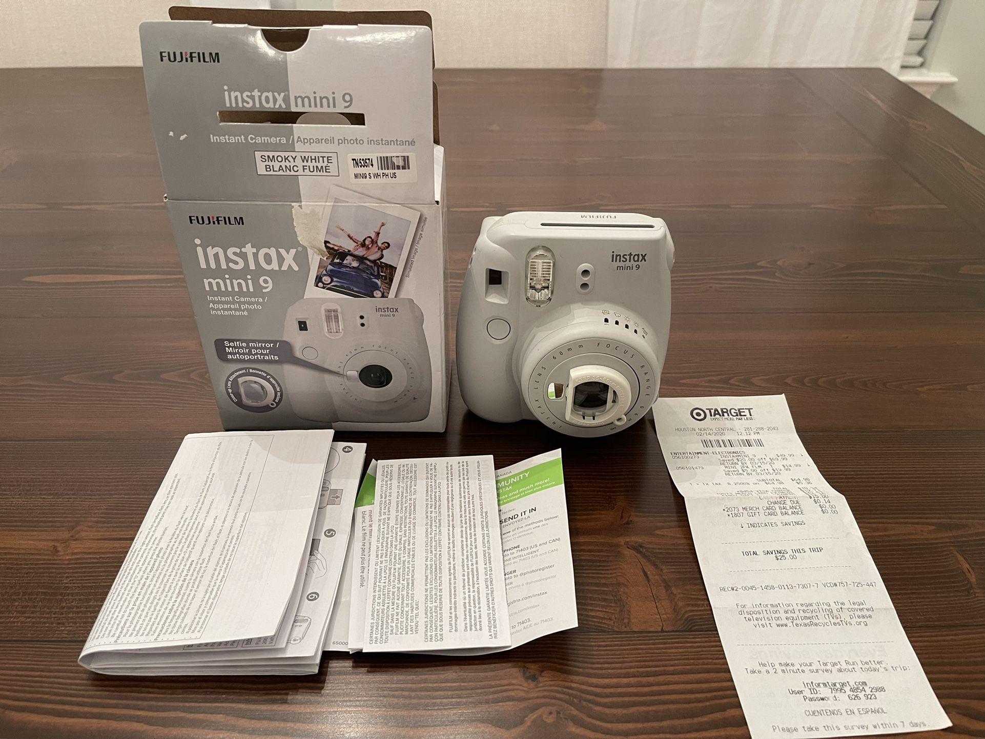 New Instax Camera