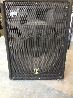"Yamaha BR15 15"" 2-way speaker cabinet for Sale in Austin, TX"