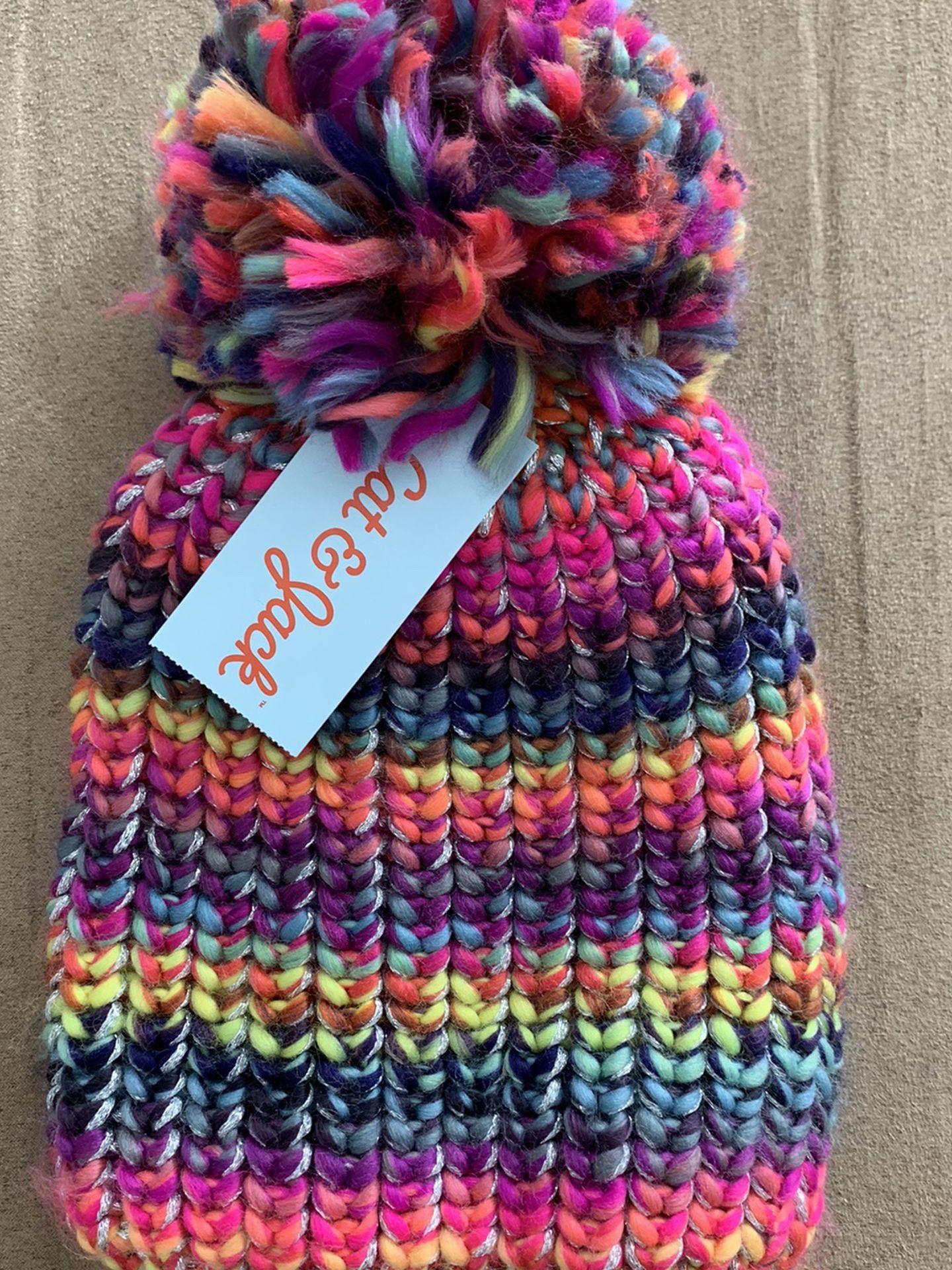 New girls winter hat