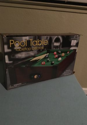 New And Used Pools For Sale In Elk Grove CA OfferUp - Used mini pool table