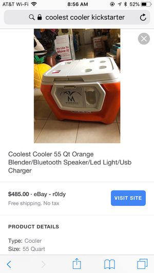 Coolster cooler ,brand new ,most sell for 475 to 700 ,google the cooler for specification for Sale in Buena Park, CA