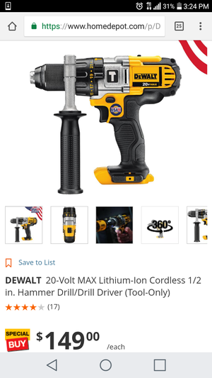 Dewalt 20v hammer drill ( TOOL ONLY )( NEW ) for Sale in CO, US
