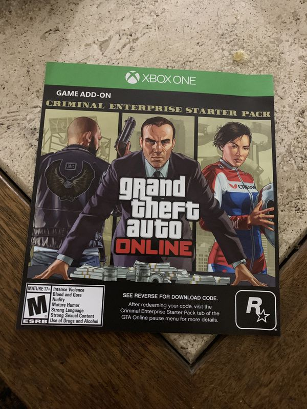 GTA 5 Criminal Enterprise Starter Pack Code for Sale in San Diego, CA -  OfferUp