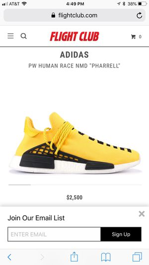 online store 2e549 cbdb3 Authentic Pharrell williams human race shoes for Sale in Durham, NC -  OfferUp