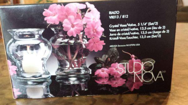 Studio Nova Crystal Vase Vase And Cellar Image Avorcor
