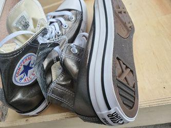 New Converse Metallic Silver M6 W8 Thumbnail
