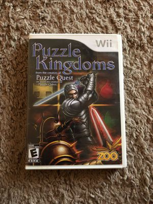 Puzzle Wii Game. for Sale in Buckeye, AZ