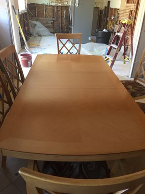 Dining Table With 6 Chairs For Sale In San Diego CA