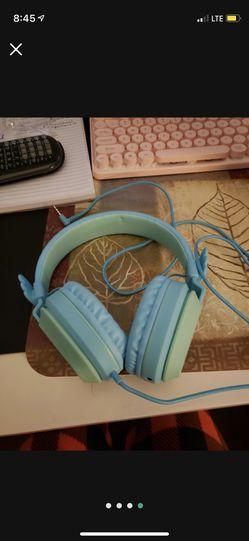 Blue Headphones Thumbnail