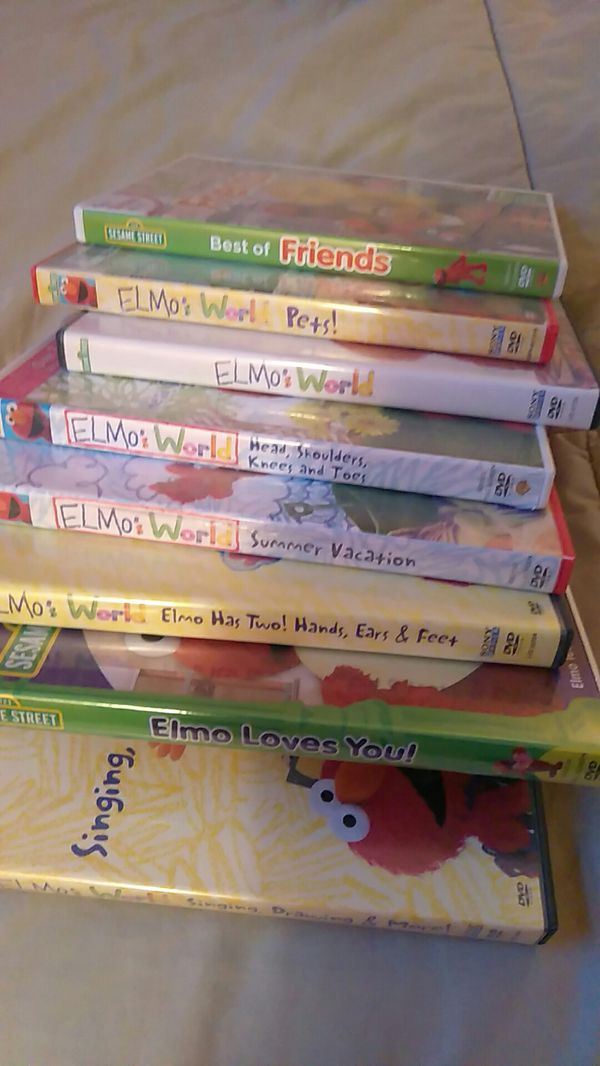 Elmo Dvd Lot 8 For Sale In Lansdowne Pa Offerup