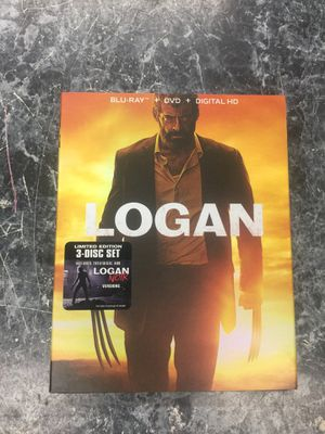 Logan Blu-ray + DVD + digital HD for Sale in Washington, DC