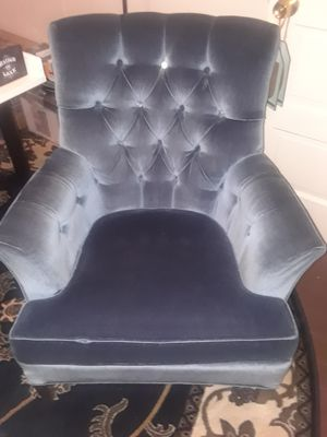 Two Blue Antique chairs for Sale in Martinsburg, WV