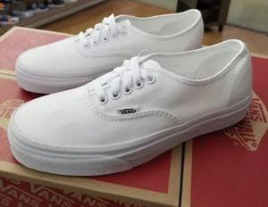 2da70220157 True white Vans Men women in box all sizes 💯 Original in spring Valley  Swapmeet