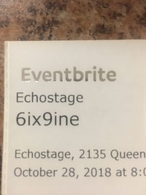 Tekashi69 Concert tickets DC Oct 28 for Sale in Alexandria, VA