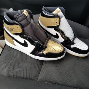 9558aa79f4fb67 Jordan 1 retro high gold top 3 for Sale in Houston