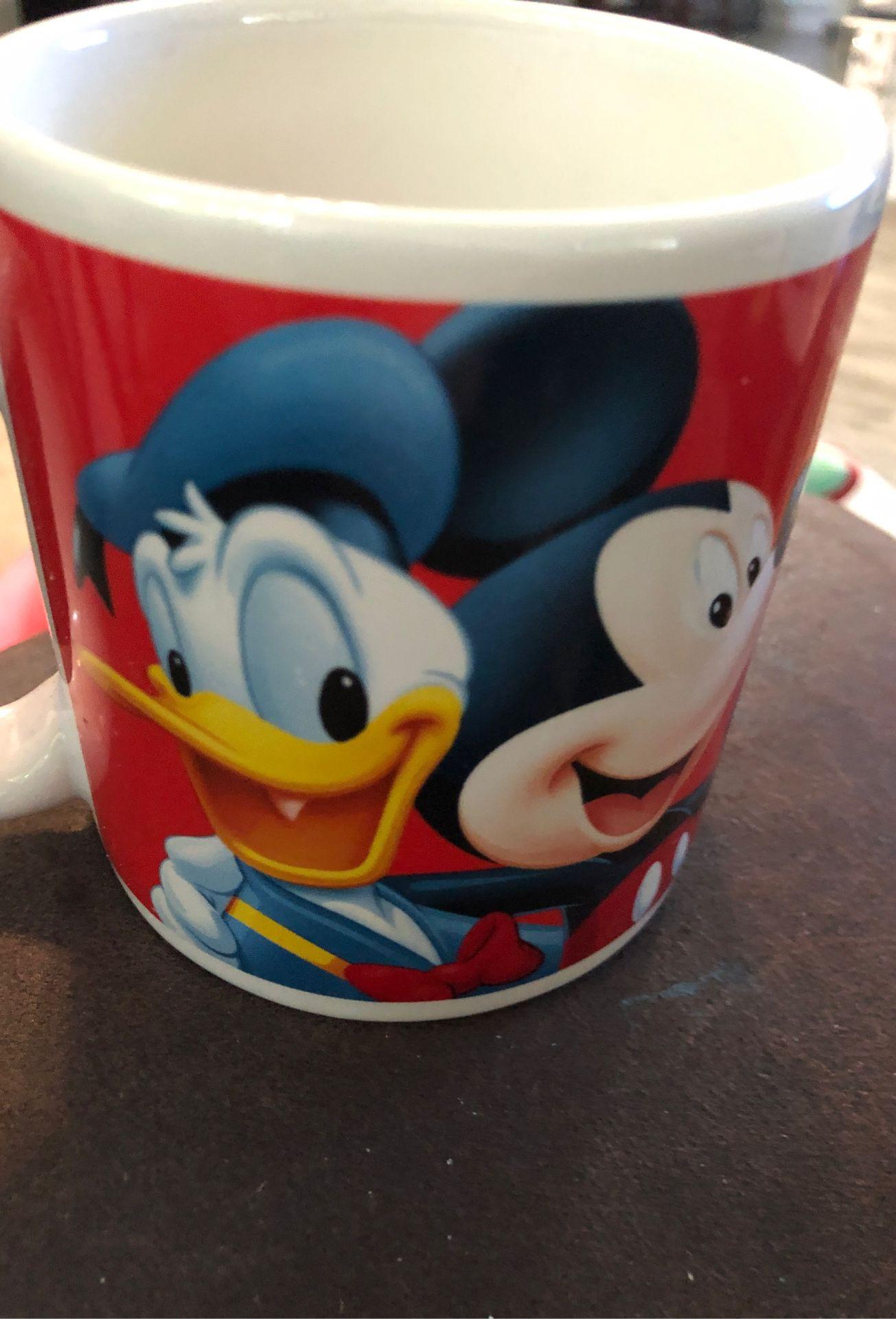 WALT DISNEY Applause FAB FIVE FLORIDA 12oz. Coffee Mug Cup Mickey Minnie Donald