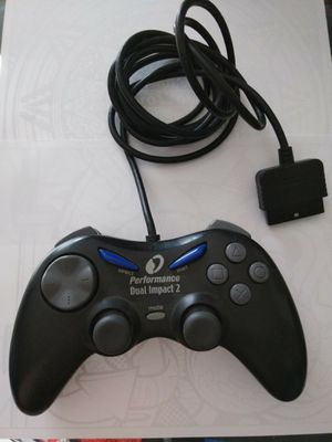 PlayStation Performance Dual Impact 2 Controller,Compatible w/PS1 & PS2,I have more Old Controllers,if interested See PG & Ill bundle a deal for both for Sale in Puyallup, WA