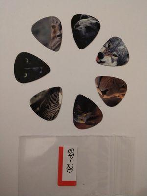 7 NWOT Wild Animal Guitar Picks for Sale in Silver Springs, FL