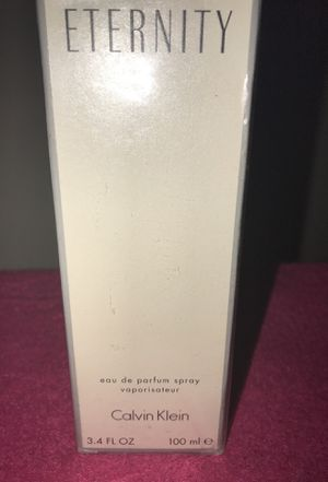 ETERNITY CALVIN KLEIN for Sale in Fort Washington, MD