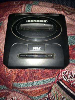 Sega Genesis with 10 games $60 for Sale in Silver Spring, MD