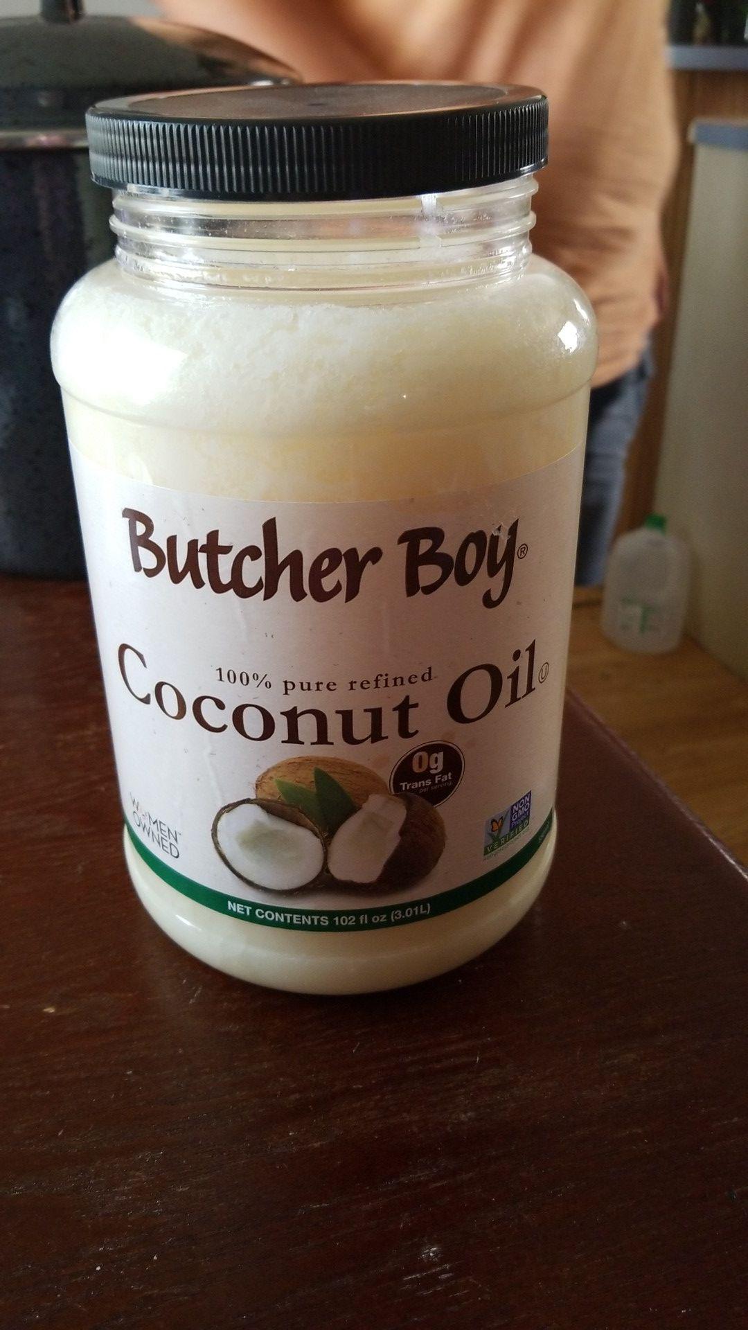 Butcher boy 100% coconut oil